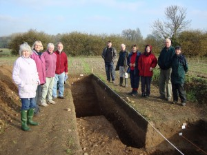 Cowlins Excavation Team 2011