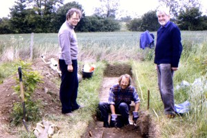 1994 June 21st Mike Matthews, Richard Shackle and James Fawn Great Tey Roman Road