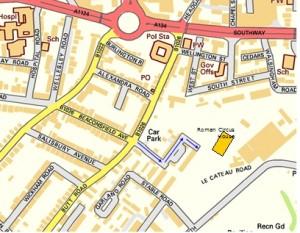Roman Circus House map